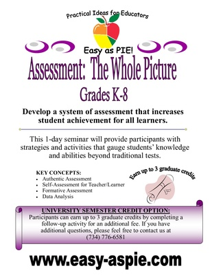 Assessment: The Whole Picture