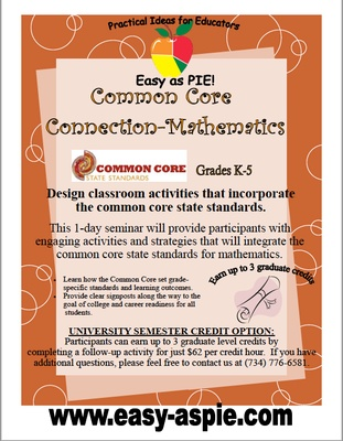Common Core Connections - Mathematics
