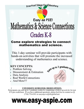 Mathematics and Science Connections