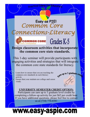 Common Core Connections - Literacy
